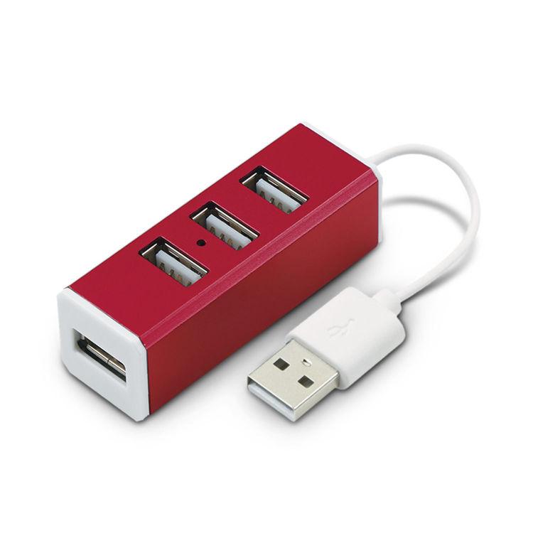 Picture of Aluminium 4 Port USB Hub