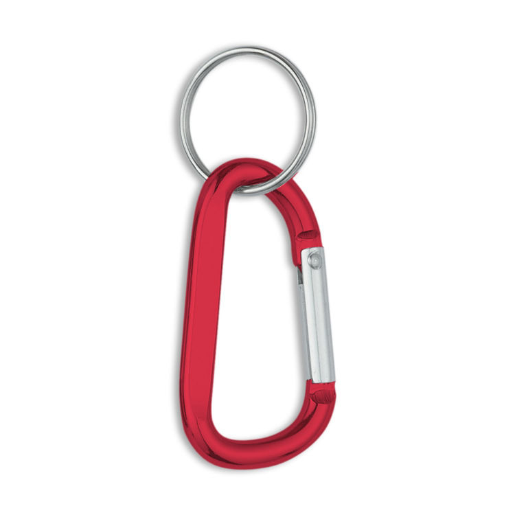 Picture of 6 mm Carabiner With Split Ring