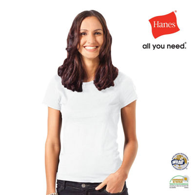 Picture of Hanes Women's Organic-T