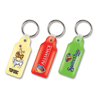 Picture of Rectangle Flexi Resin Key Ring