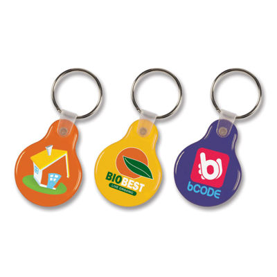 Picture of Round Flexi Resin Key Ring