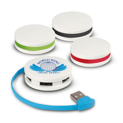 Picture of Round 4 Port USB Hub