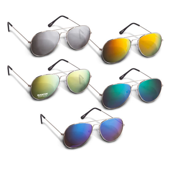 Picture of Aviator Sunglasses - Colour Mirror