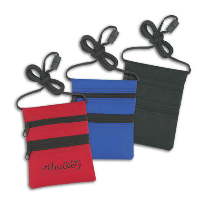 Picture of Cord Wallet Badge and ID Holder