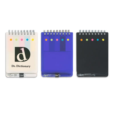 Picture of Spiral Note and Flag Jotter