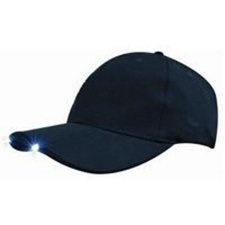 Picture of Brushed Heavy Cotton with Led Lights in Peak