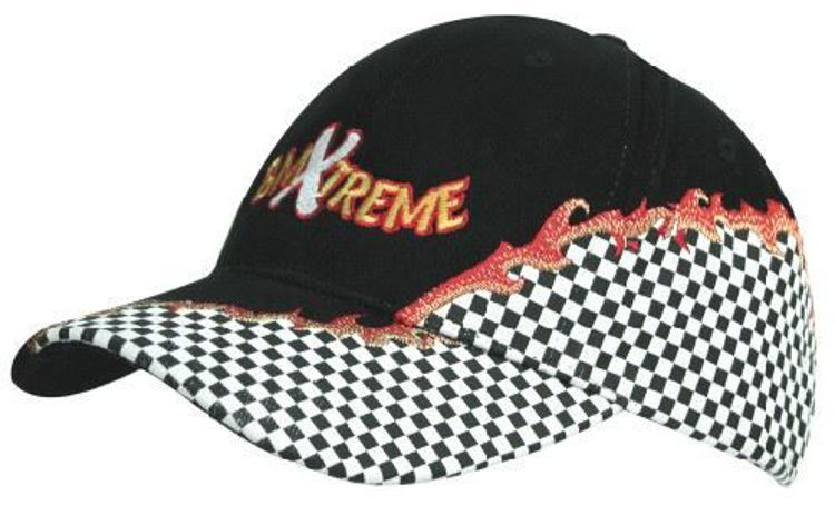 Picture of Brushed Heavy Cotton with Rift Embroidery and Checks
