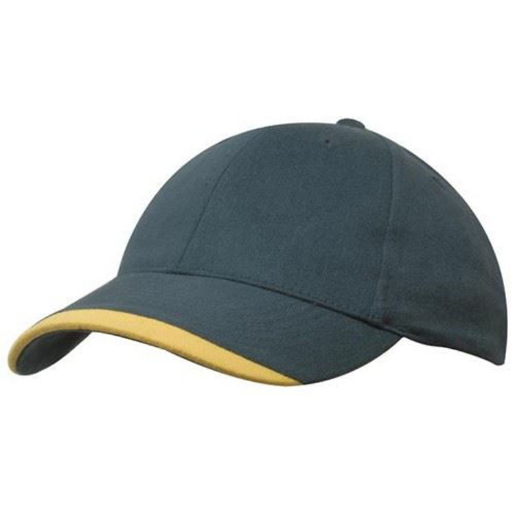 Picture of Brushed Heavy Sports Twill with Contour Trim
