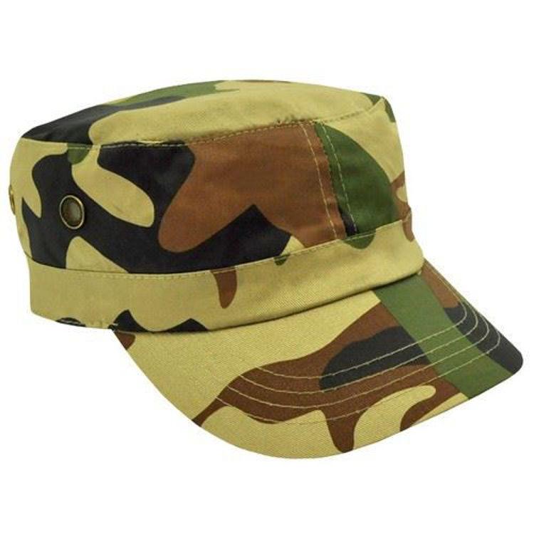 Picture of Camo Military Cap