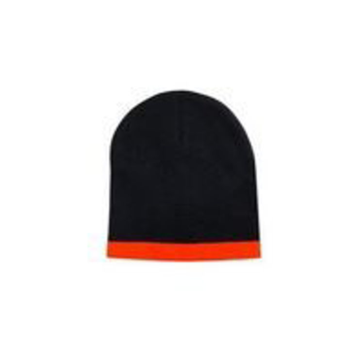 Picture of Roll Down Two Tone Acrylic Beanie