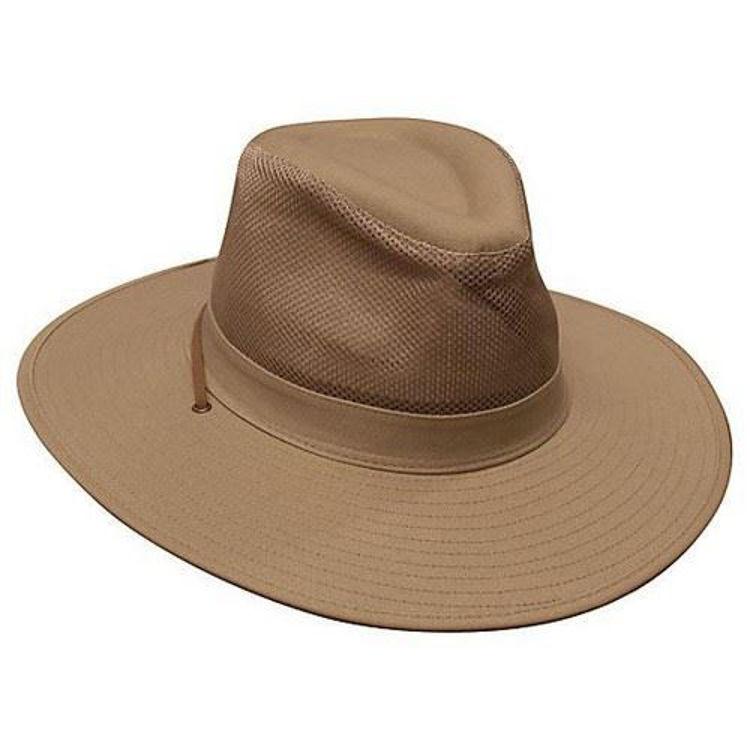 Picture of Safari Cotton Twill & Mesh Hat