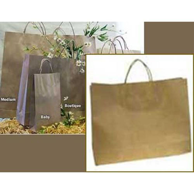 Picture of Brown Kraft - Paper Loop Handles - Boutique