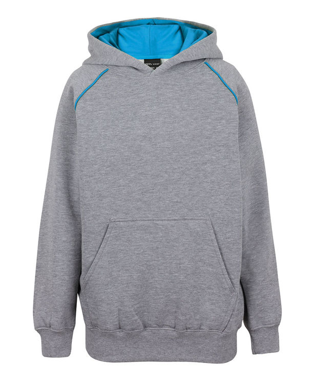 Picture of JB's KIDS CONTRAST FLEECY HOODIE