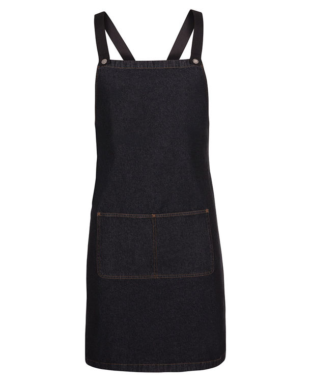 Picture of JB's CROSS BACK DENIM APRON (WITHOUT STRAP)