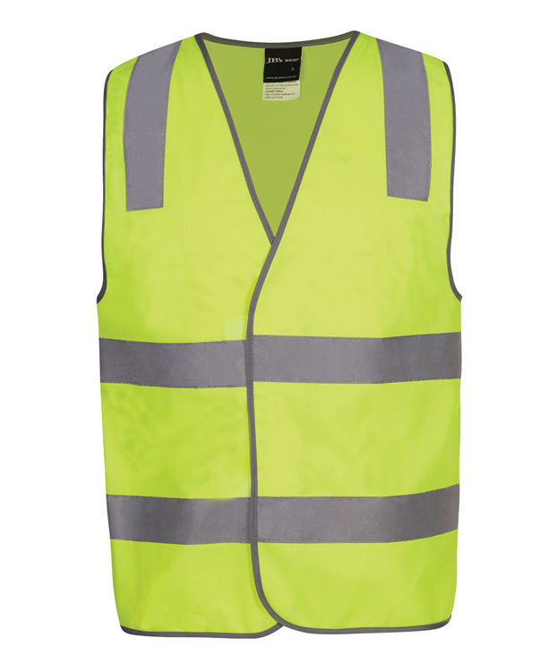 Picture of JB's HV (D+N) SAFETY VEST PRINT STAFF