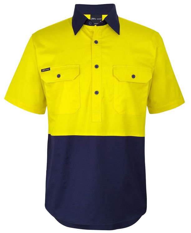 Picture of JB's HV CLOSE FRONT S/S 150G WORK SHIRT