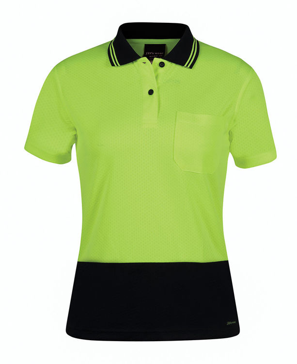 Picture of JB's LADIES HV S/S JACQUARD POLO