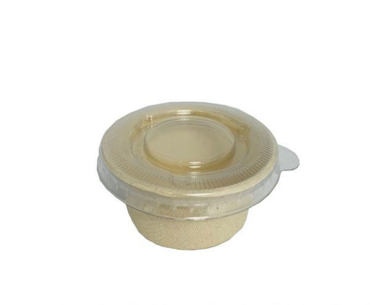Picture of BetaEco PET Lid for 2oz PoBetaEco PET Lid for 2oz Portion Container - 2000/crtion Container - 2000/c