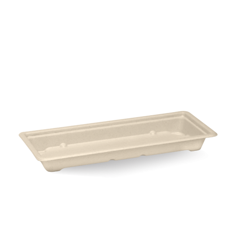 Picture of BioPak BioCane Sushi Trays &ampl; Lids