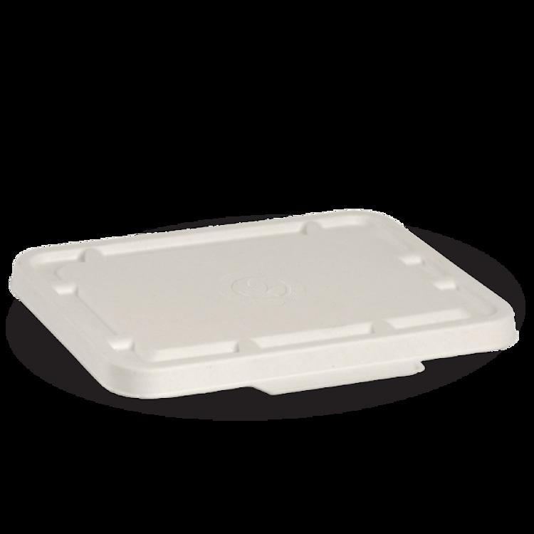 Picture of BioPak BioCane Compartment Takeaways - White
