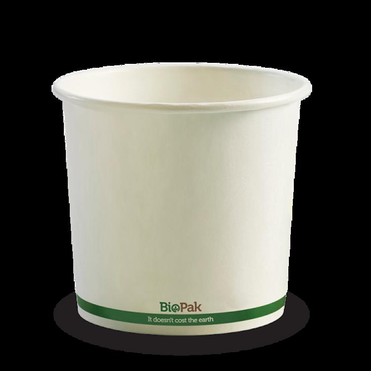 Picture of BioPak Paper BioBowls - White