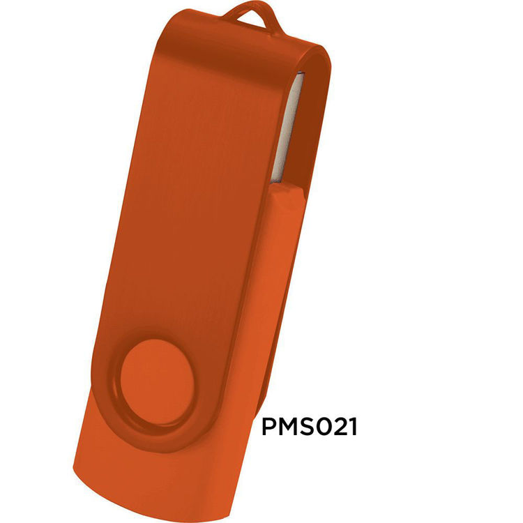 Picture of Rotate USB Flash Drive - 2 Tone Finish
